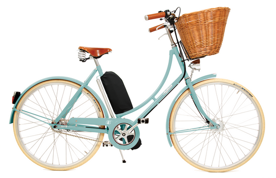 Pashley Britannia with Electric Assist - Duck Egg Blue