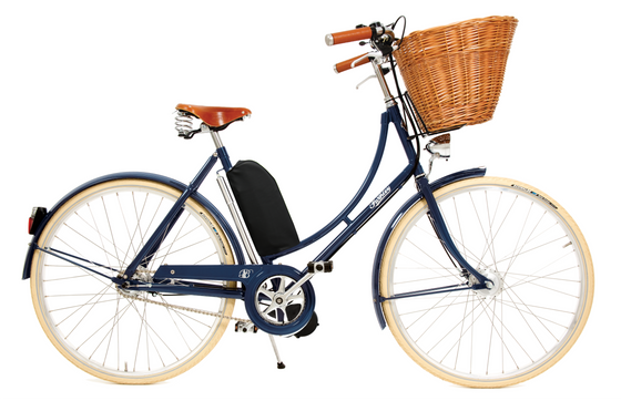Pashley Britannia with Electric Assist - Oxford Blue