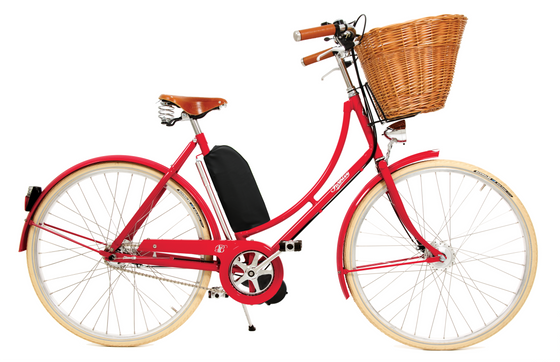Pashley Britannia with Electric Assist - Royal Red