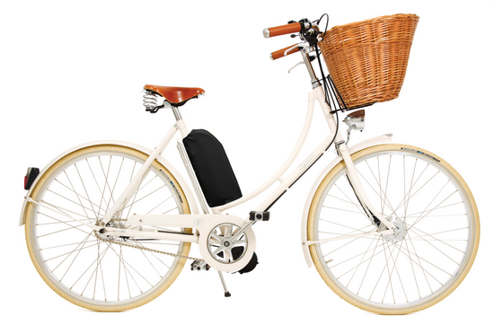 Pashley Britannia with Electric Assist - Old English White