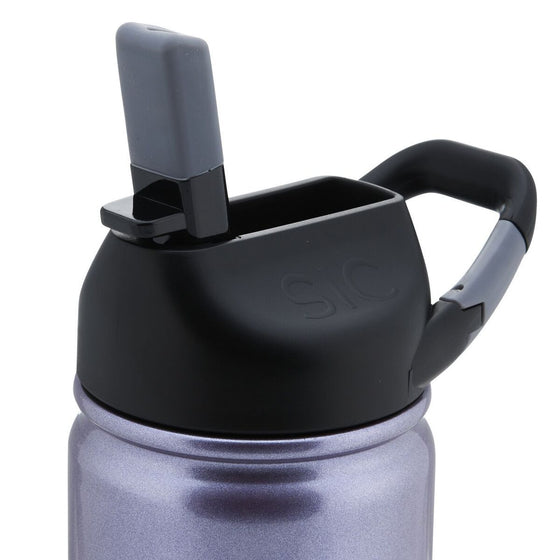 Insulated Bottle 12oz (350ml) Ultraviolet with Carabiner Lid