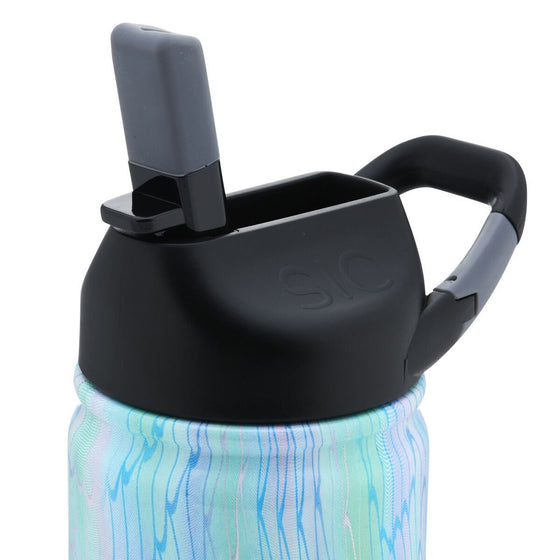 Insulated Bottle 12oz (350ml) Mermaid with Carabiner Lid