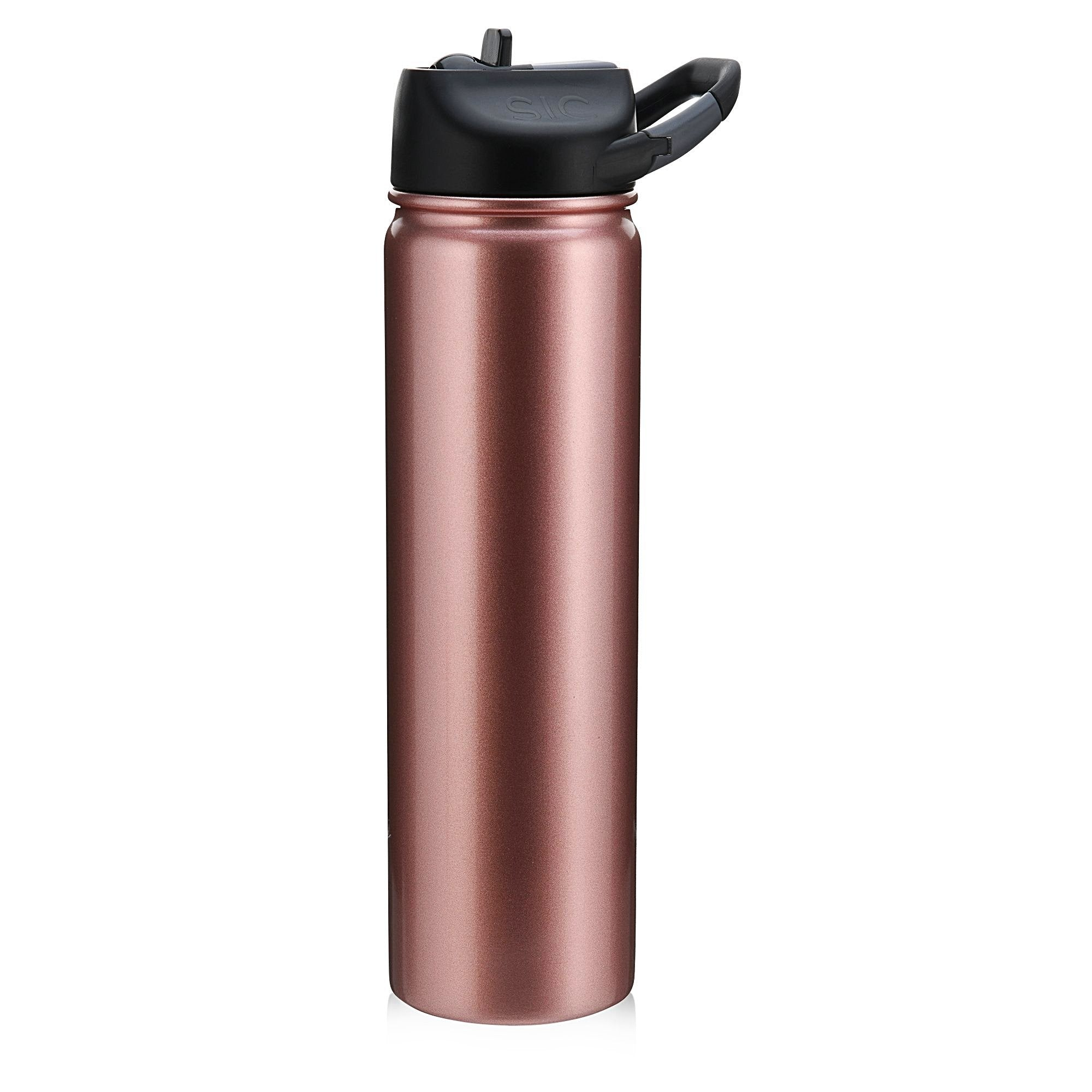 Seriously Ice Cold 800ml Rose Gold (carabiner lid)