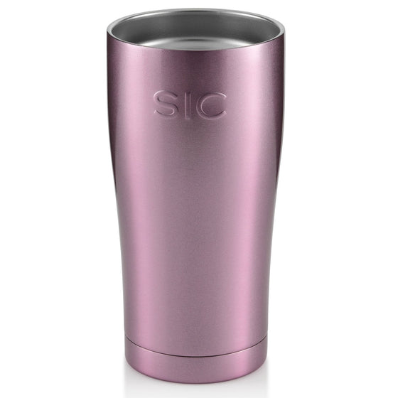 Insulated Cup 20oz (590ml) - Pink Glitter