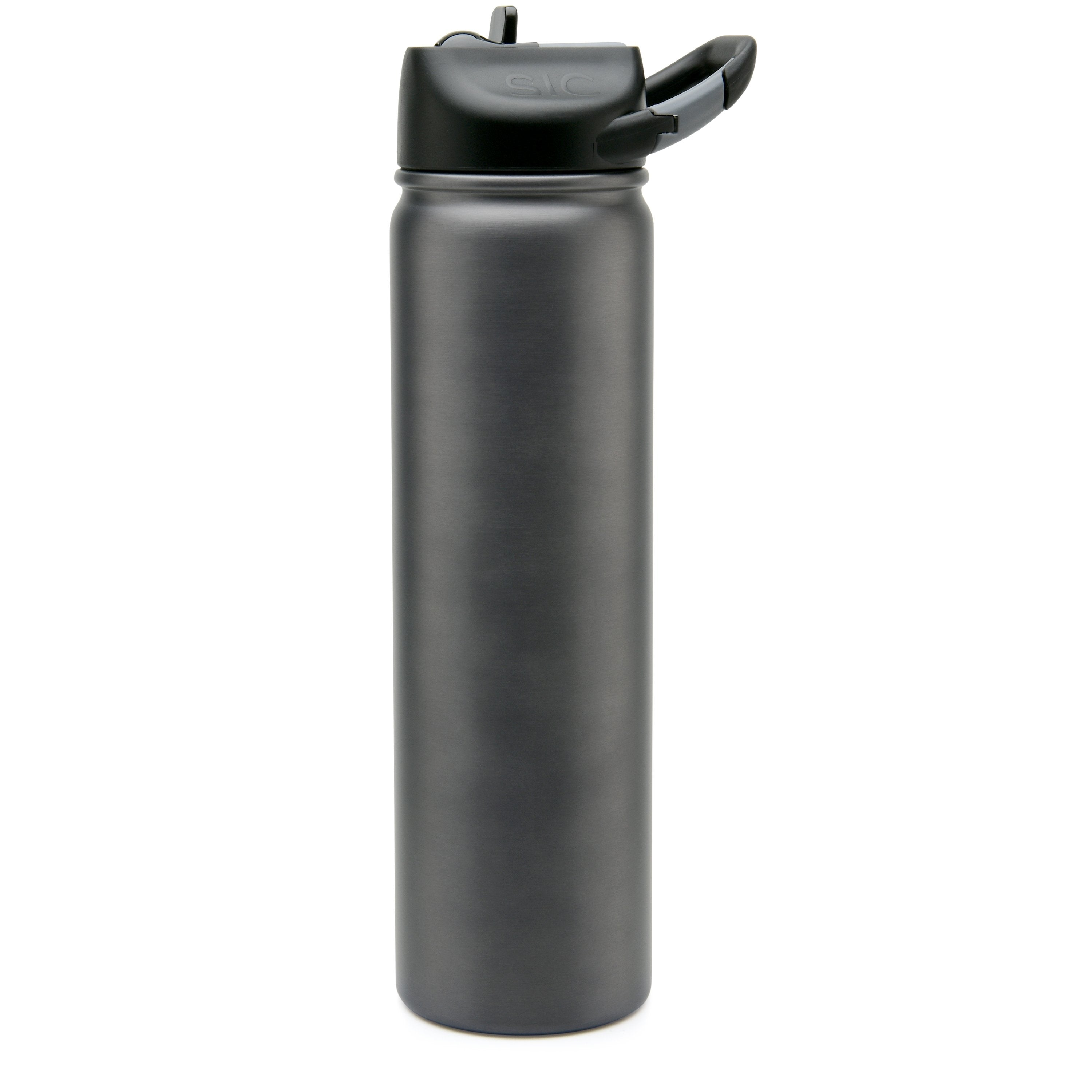 Seriously Ice Cold 800ml Gun Smoke (carabiner lid)