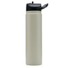 Insulated Bottle 27oz (800ml) Matte Sand with Carabiner Lid