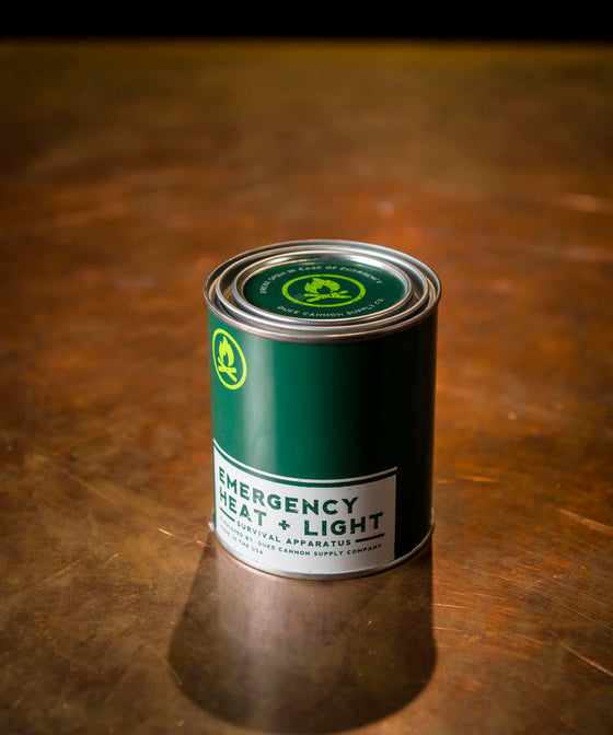 Duke Cannon Heat + Light Candle - Fresh Cut Pine