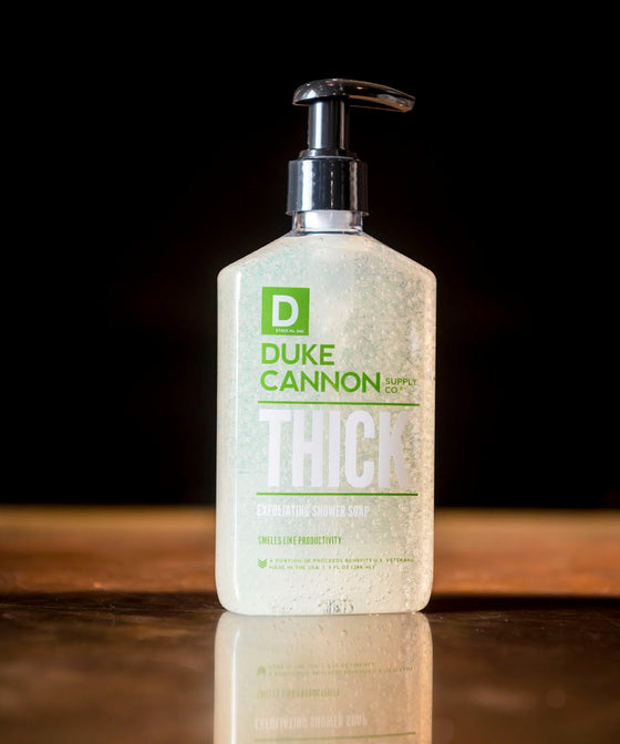 Thick Exfoliating Shower Soap - Smells Like Productivity