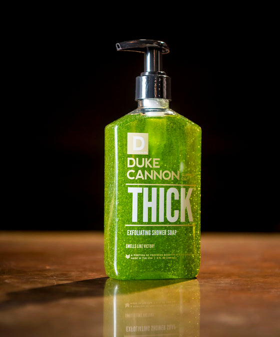 Thick Exfoliating Shower Soap - Smells Like Victory