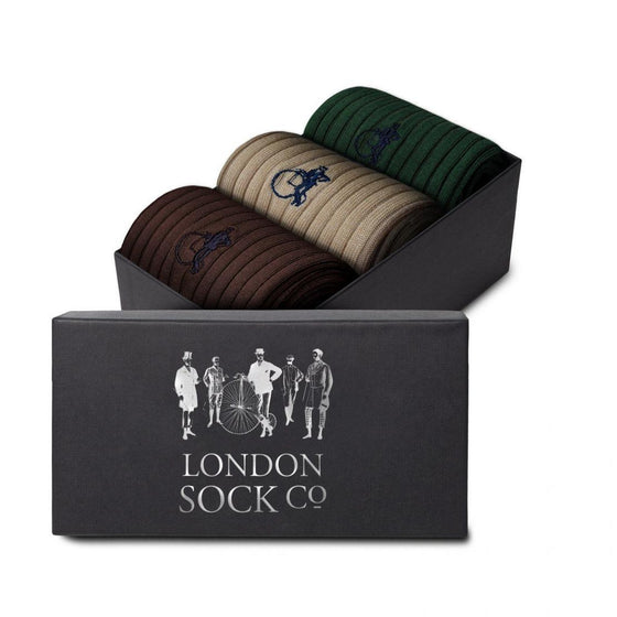 London Sock Co. Forest 3-pair Gift Set
