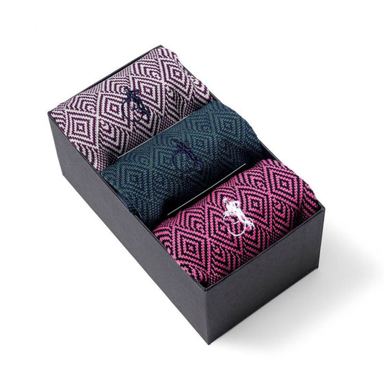 Jacquard Gift Set 3 Pair