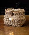 Nantucket Madaket Creel Basket with Lid