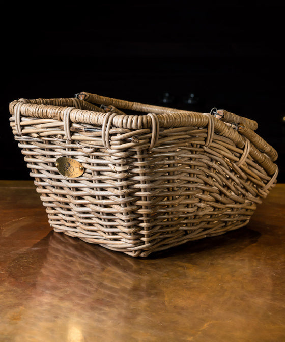 Nantucket Rear Carrier Basket With Handles