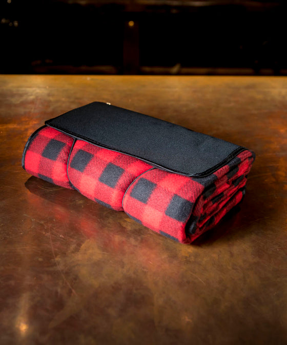 Blanket Tote - Buffalo Plaid