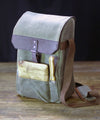Two-bottle Insulated Wine and Cheese Cooler Bag