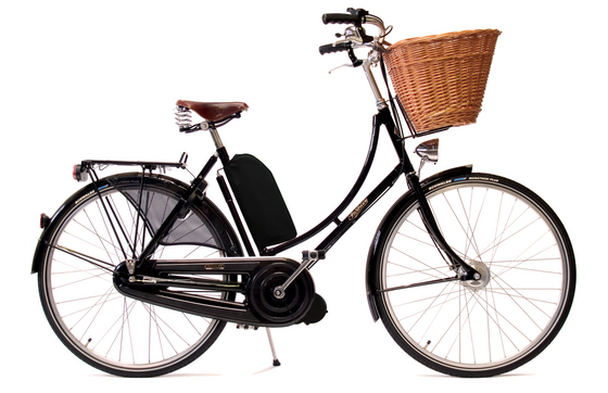 Pashley Princess Sovereign with Electric Assist - Buckingham Black