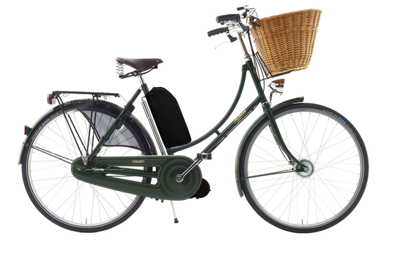 Pashley Princess Sovereign with Electric Assist - Regency Green