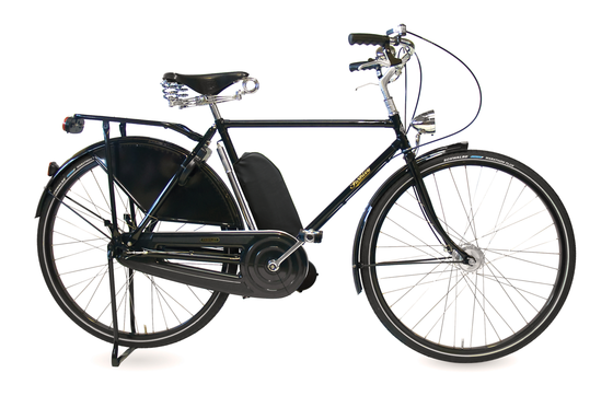 Pashley Roadster Sovereign with Electric Assist - Buckingham Black
