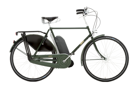 Pashley Roadster Sovereign with Electric Assist - Regency Green