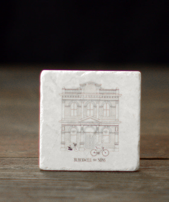 Stone Coasters - Blackwell and Sons Building