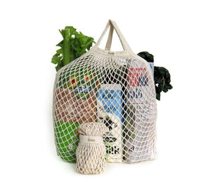 Organic Cotton Reusable String Bag