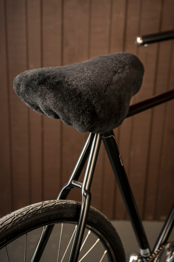 Sheepskin seat cover - Black
