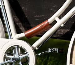 Pashley Leather Frame Wrap - Brown