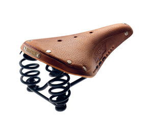 Brooks Aged Laced Flyer Saddle
