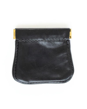 Squeeze Pouch - Leather Coin Purse