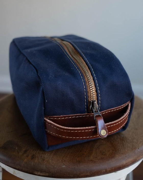 Blackwell & Sons Toilet Bags / Dopp Kit - Navy