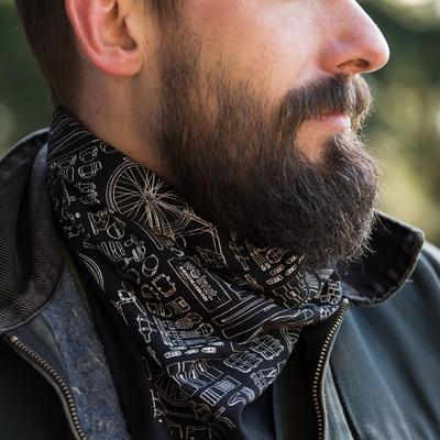 Walnut Bicycle Bandana