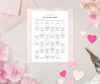 30-Day Love Journey - Printable - MommaFactor