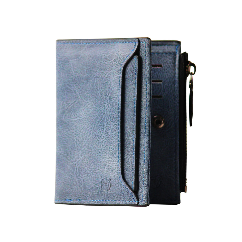 Ladies Wallet (UC- Light Blue)-gowma_non_leather