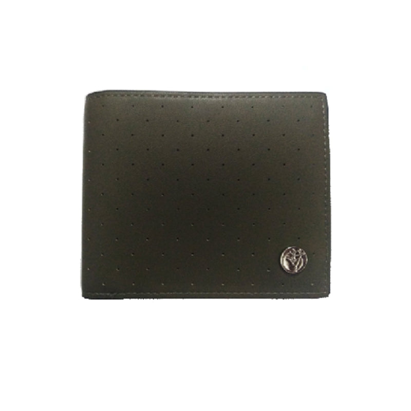 Dotted Men's Wallet (Green)-gowma_non_leather
