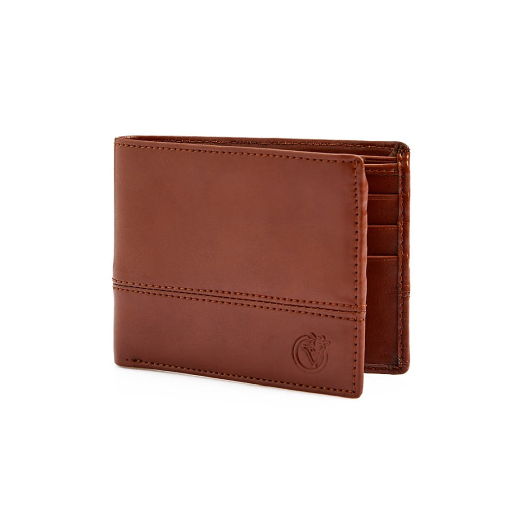 Full Stitch Wallet - Tan-gowma_non_leather