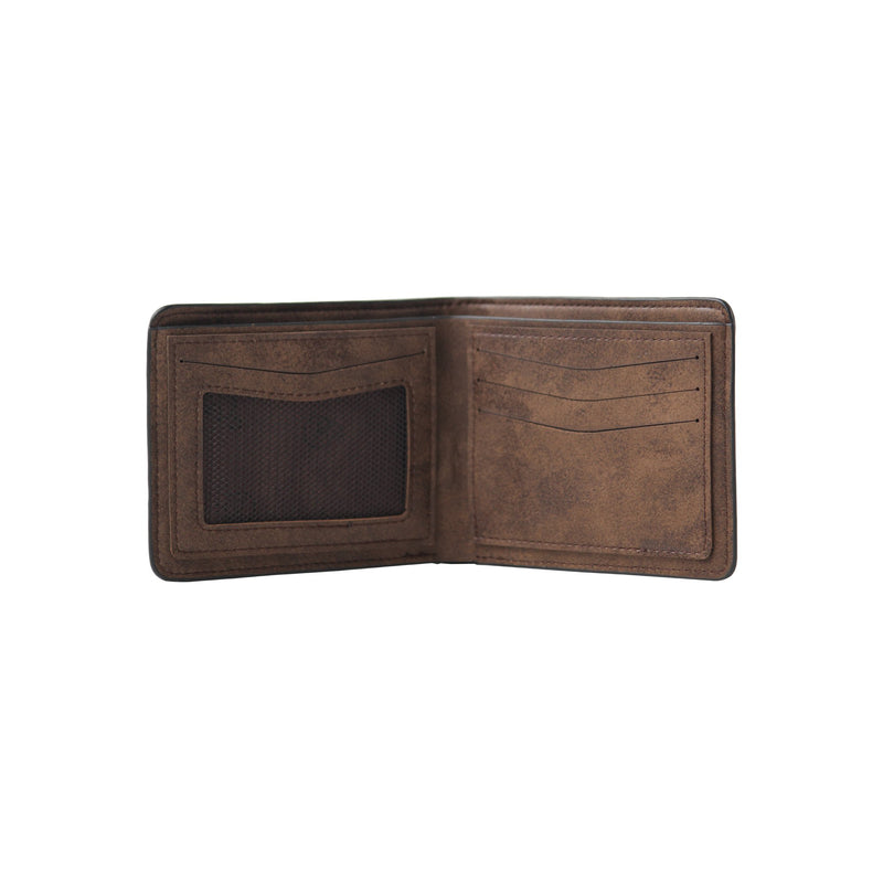 Two Stitched Wallet Brown-gowma_non_leather
