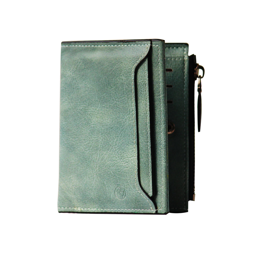 Ladies Wallet (UC-Light Green)-gowma_non_leather