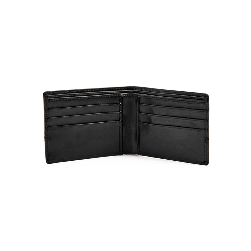 Full Stitch Wallet - Black-gowma_non_leather