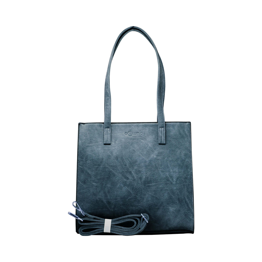 Handbag - Rectangular Boarded (RB- Dark Grey) - Gowma Non Leather Pvt Ltd