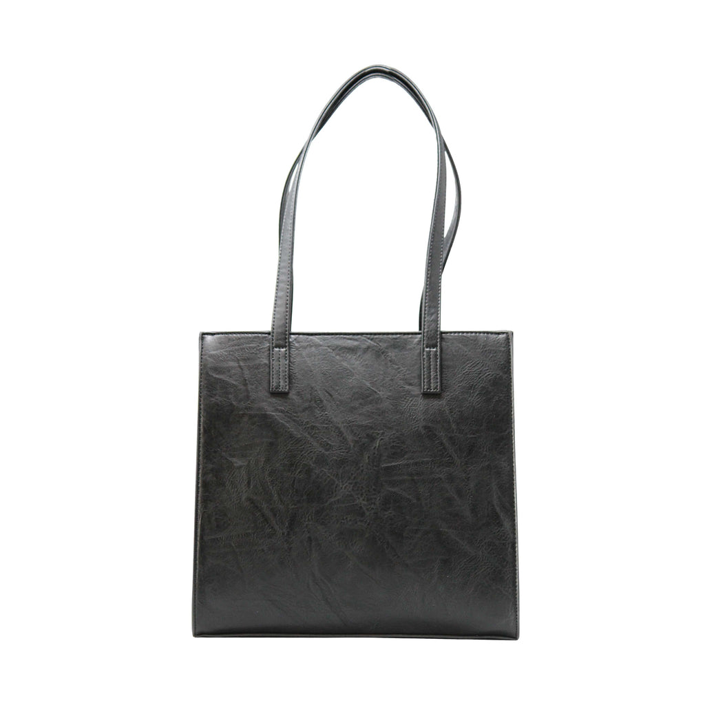 Handbag - Rectangular Boarded (RB-Black) - Gowma Non Leather Pvt Ltd