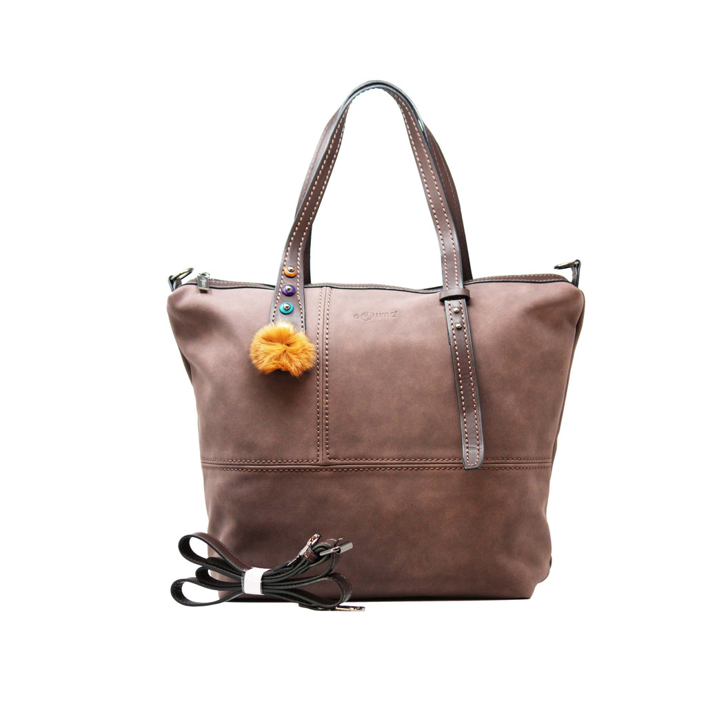Handbag (FB-Brown) - Gowma Non Leather Pvt Ltd