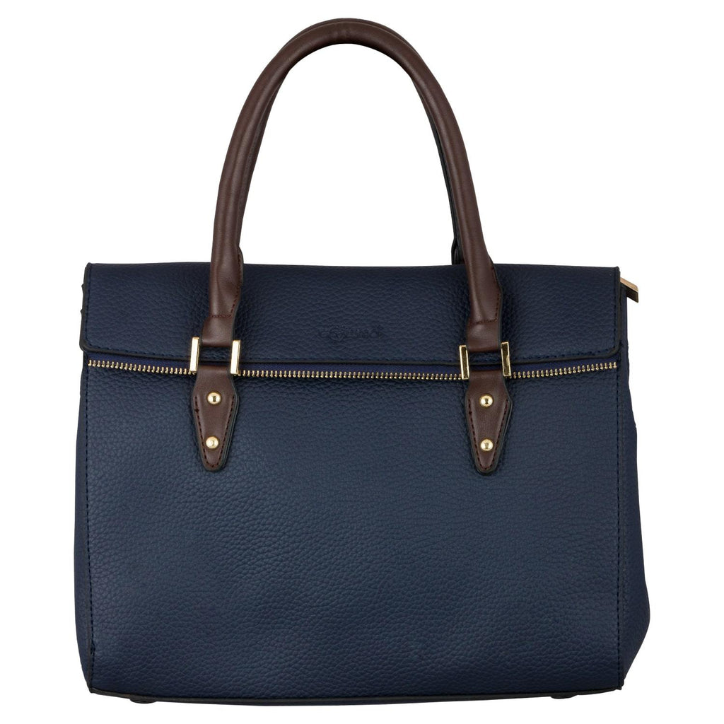 Handbag (ZS-Blue Coffee) - Gowma Non Leather Pvt Ltd