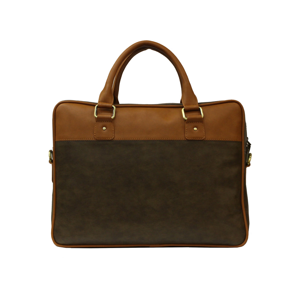 Laptop Bag Tan Brown