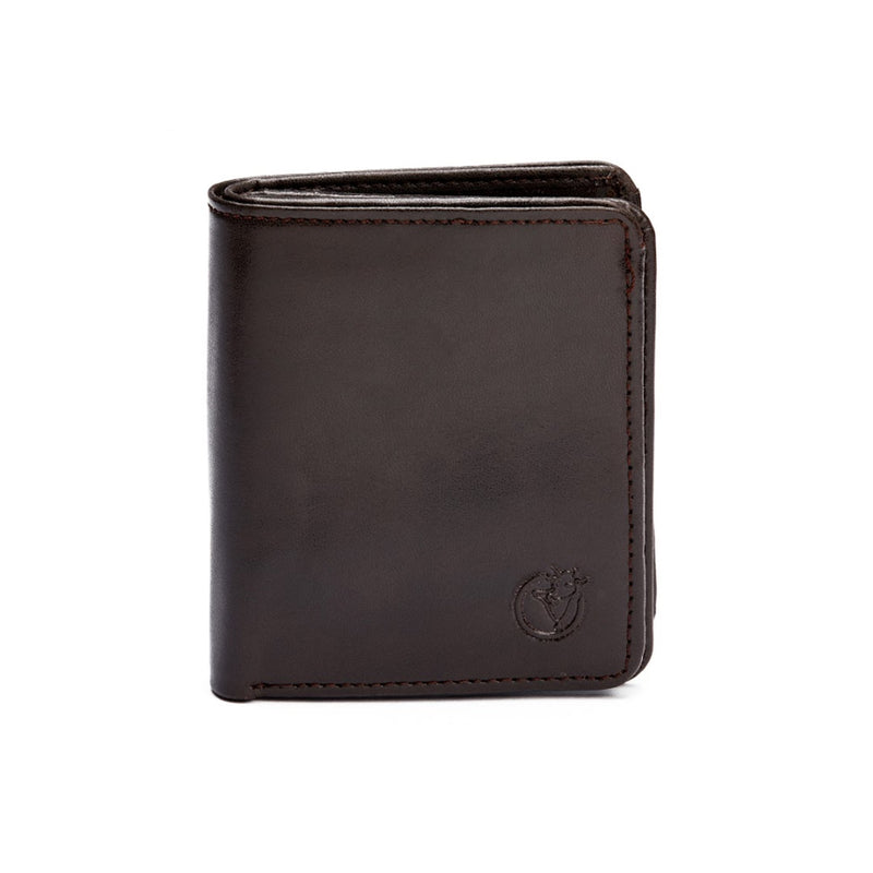 8 Card Cash Wallet Brown-gowma_non_leather