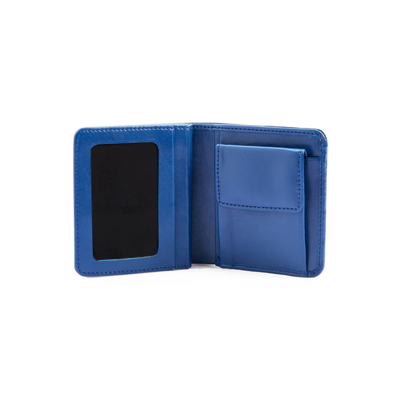 8 Card & Cash Wallet Blue-gowma_non_leather