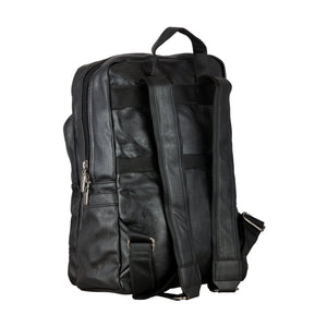 Traditional Backpack - Black-gowma_non_leather