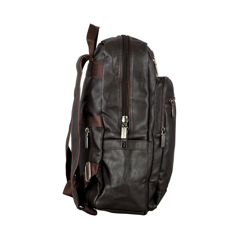 Traditional Backpack - Brown-gowma_non_leather