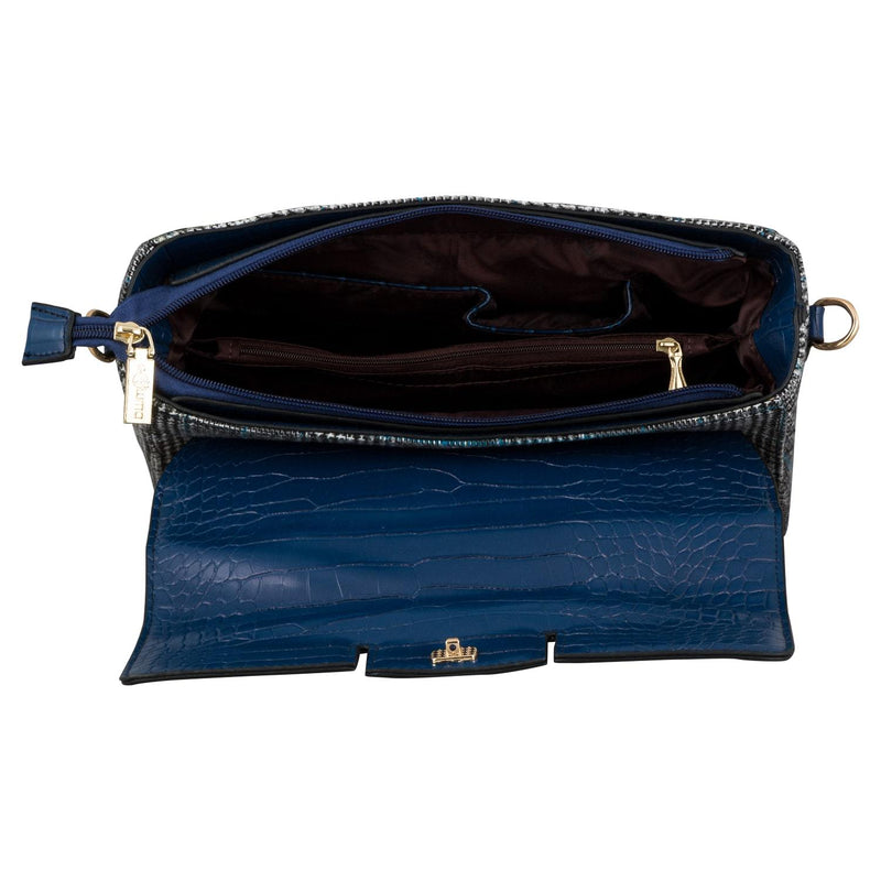Handbag (CLP) - Navy - Gowma Non Leather Pvt Ltd