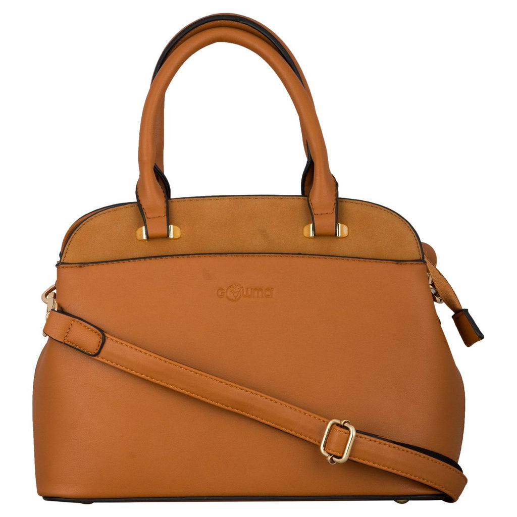 Handbag (SM-Brown) - Gowma Non Leather Pvt Ltd