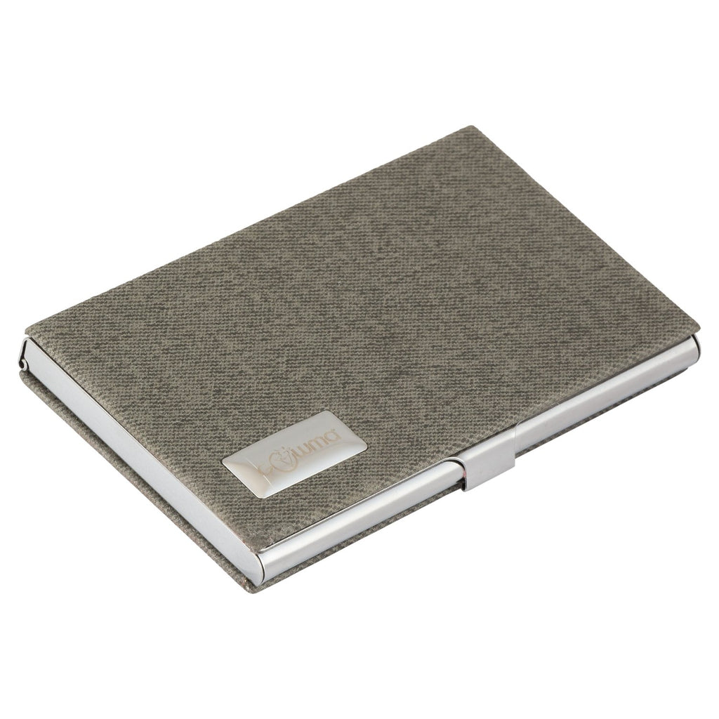 Small Metal Sided Piece Card holder-gowma_non_leather